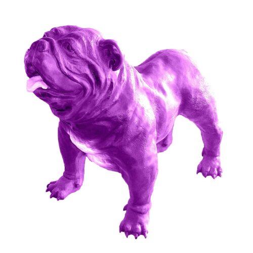 resin English bulldog figure