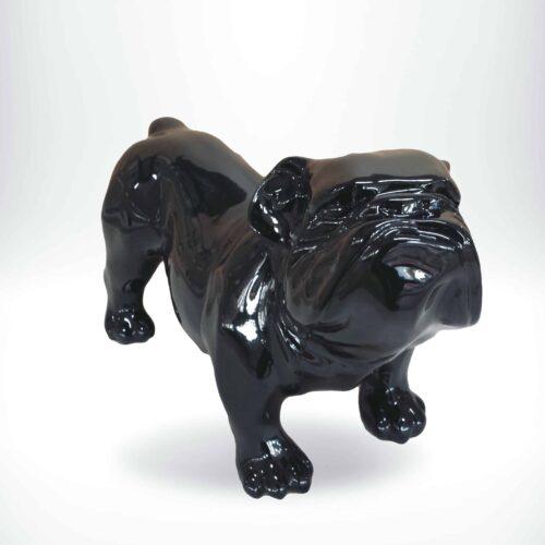 GC197 bulldog black gloss