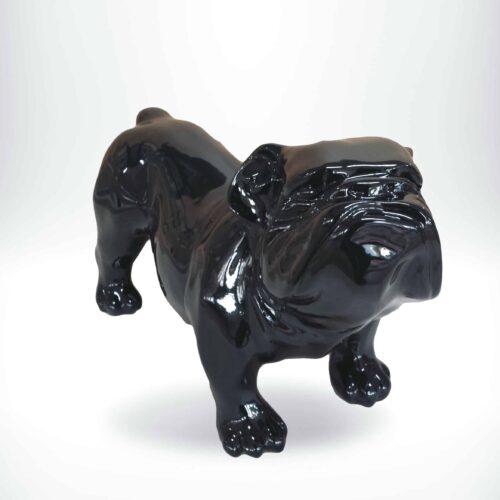 GC197 bulldor angielski - czarny połysk