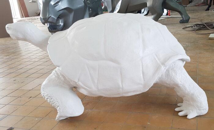figura żółwia
