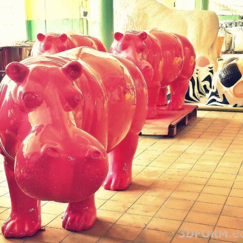figura hipopotam magazyn
