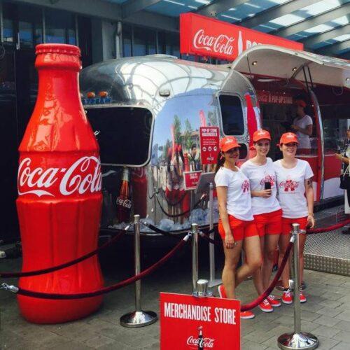 reklamowa butelka coca cola
