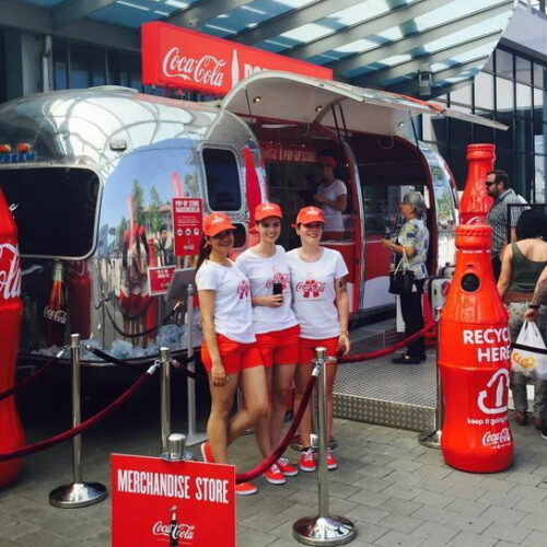 coca cola popup store