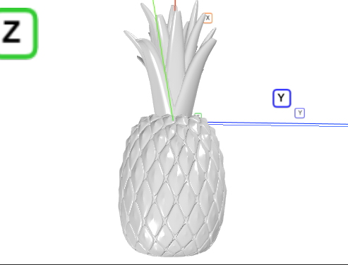 ananas model 3d