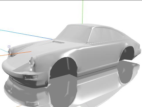 porsche 911 model 3d