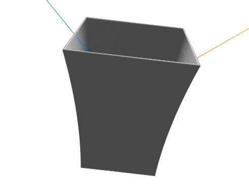 torebka na popcorn model 3d