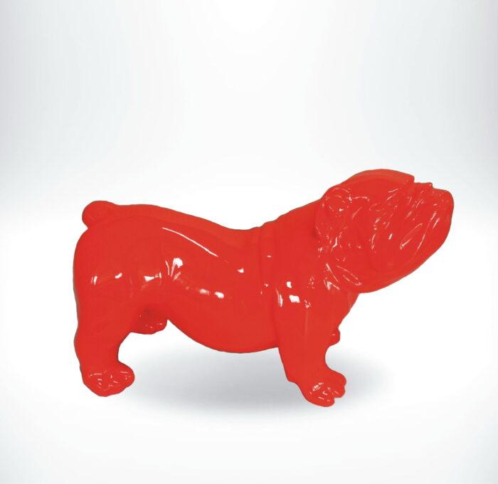 GC197 bulldog czerwony
