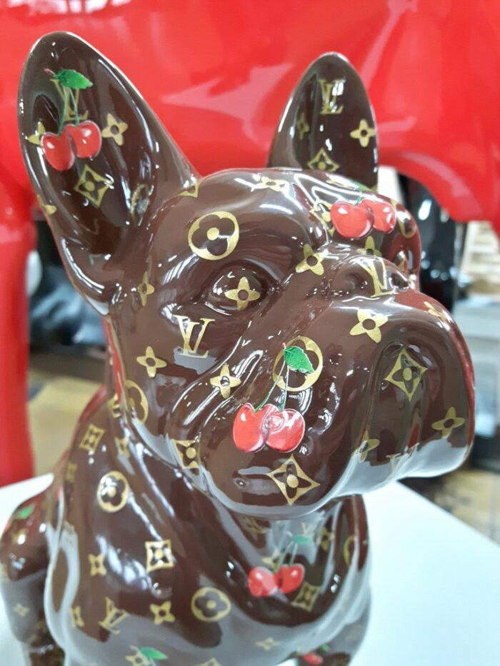figurka buldog pop-art LV