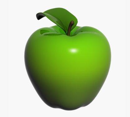 figura jabłko 40cm