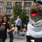 big english bulldog pop-art