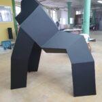 Goryl origami duża figura geometryczna