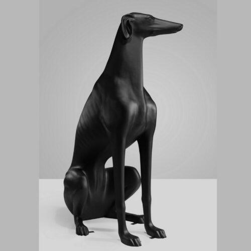 Greyhound czarny mat
